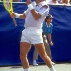 At 39, Jimmy Connors stole the show at the '91 Open, where he battled a bad back and reached the semifinal before falling to Jim Courier.