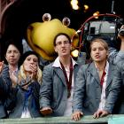 """""""Why are they looking at us like there's someone in a giant bird costume standing behind us?"""""""