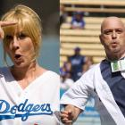 Just in time for the playoffs, the Dodgers unveiled a revolutionary new lefty-righty set-up duo based on the old baseball principle that your opponent can't hit what he doesn't take seriously.