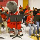 As mankind continues to encroach on natural habitats, wildlife frequently shows up in unexpected places, such as the band room at Bruce Elementary School in Houston.