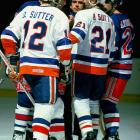 "What else would you call the kid brother of a player nicknamed ""Dog""? Brent and Duane played together for the Islanders from 1981-87."