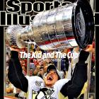 Since making his NHL debut in 2005 at the tender age of 18, the fuzzy-cheeked Crosby has become the youngest captain in NHL history (19 years 297 days) as well as the youngest (21) to lead his team to the Stanley Cup. He's also become the youngest player (18) to tally 100 points in a season and 200 in a career (19) as well as the youngest scoring champion (19) and person to ever receive the Order of Nova Scotia (22).