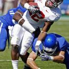 Mark Ingram ran for a career-high 140 yards and two touchdowns to lead Alabama past mistake-prone Kentucky.