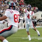 Jevan Snead passed for three touchdowns to overcome his three interceptions as Mississippi bounced back Saturday night with a win over Vanderbilt. Snead finished 19 of 34 for 237 yards.