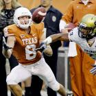 Jordan Shipley made 11 receptions for 147 yards, including a 39-yard TD catch, and returned a punt 74 yards for another score as the Longhorns improved to 5-0.