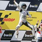 You think this guy won the Portugal motorcycling Grand Prix?