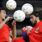 In another apparent consequence of global warming, new species of spherical flying insects are bugging soccer players in places like Prague.