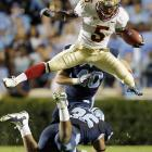 Seminoles defensive back Greg Reid has no trouble with mobility despite an apparent surgical mixup that left him with an extra hand where his left foot should be.