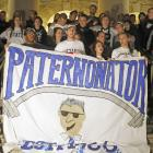 In Nov. 2011, Penn State students rushed to show support for Paterno after a child sex scandal broke out involving longtime assistant coach Jerry Sandusky.