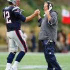 Brady and coach Bill Belichick have won three Super Bowls together.