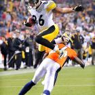 Often accused of being a dirty player, Steelers wideout Hines Ward proved it by decapitating cornerback Champ Bailey of the Broncos in horrifying NFL action in Denver on November 9.