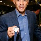 Hey, buddy, wanna buy a watch? No, that's not some cheap Rolex imitation that Yankees manager Joe Girardi is peddling. It's his own brand of timepiece, launched with Manfredi Jewels in Greenwich, CT, on Nov. 10.
