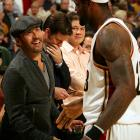 Leaving his Entourage behind for a gala night at Quicken Loans Arena, thespian Piven glad-handed The King before the Cavaliers were gored by the Bulls, 86-85, on Nov. 5.