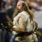 Brad Childress in 10 years? A Vikings fan offers a glimpse of the future while his team tackles the Seattle Seahawks in the Hubert H. Humphrey Metrodome on Nov. 22.