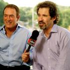 ABC hired the esoteric comedian as part of the program's major shake-up (which also included the addition of analyst Dan Fouts and sideline reporters Eric Dickerson and Melissa Stark). He lasted two seasons before making way for John Madden, who would sign a four-year, $20 million contract to team with Al Michaels.