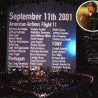 A few months after the Sept. 11 attacks, U2 gave an emotionally stirring performance during halftime while a banner in the background scrolled through the names of those who lost their lives.