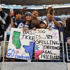 The Cowboys' fine new stadium was the site of a touching family gathering on Thanksgiving.