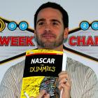 The stubbly NASCAR pilot revealed the secret to his historic run of four consecutive titles while in Las Vegas for Sprint Cup Series Champions Week.