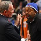 The Mayor and the renowned director held an emergency meeting at Madison Square Garden to discuss what to do about the Knicks before New York's reputation as the basketball capital of the world is ruined entirely.