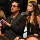 Bet you didn't know that celebrities are mandated by federal law to attend Lakers games at Staples Center in L.A., whether they want to or not.