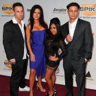 """Mike """"The Situation"""" Sorrentino, Jenni """"JWoWW """" Farley, Nicole """"Snooki"""" Polizzi and Pauly Delvecchio turned Spike TV's Video Game Awards into a hotbed of intrigue. You are intrigued, right?"""