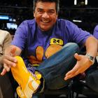 Take it from George, nothing soothes painful corns and bunions or the terrible burning and itching of athlete's foot quite like a Lakers game at Staples Center.