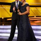 Germany's male and female athletes of the year also won Oscars for Best Costume Design Adapted From Documentary Shorts at the Kurhaus Baden-Baden in bucolic Baden-Baden Germany-Germany on December 20.