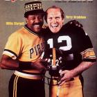 Willie Stargell and Terry Bradshaw