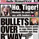 Tiger Woods Newspaper Headlines