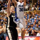 Scheyer has flourished in his first full season running the point for the Blue Devils. The senior, who leads Duke in scoring (18.6) and assists (5.7) per game, has a fabulous grasp for the game. He ranks fourth in the country with a spectacular 3.72 assist-to-turnover ratio and shoots 89.5 percent from the free-throw line. What Scheyer lacks in pure athleticism, he makes up for with stellar decision-making.
