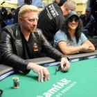 Always on the prowl for singers of note, the Guns N' Roses/Snakepit/Velvet Revolver axeman fueled rumors that he's forming a Simon & Garfunkel-esque duo with the former tennis great as they gigglingly gambled vast sums at the Pokerstars celebrity tourney in Nassau, Bahamas on Jan. 8.