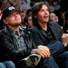 You probably didn't know that all celebrities are mandated by federal law to attend at least one Lakers game at Staples Center each year. On Jan. 10, the two famed thespians fulfilled their obligation.