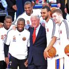 With the Lakers in town after their signing of Barack Obama, New York countered with a president of its own. Alas, Bubba's six points off the bench weren't enough as the Knicks fell 115-105 at Madison Square Garden.