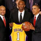 The Lakers' revamped triangle offense was created at the White House on Jan. 25 with the dramatic signing of the President of the United States.