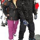 The saucy hotel heiress suggested the TV personality take the buss rather than the snowboard at the Learn to Ride event in Park City on Jan. 23.