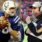 After he was sacked twice early-on by the Jets, Manning, in essence, took over the offensive play-calling from offensive coordinator Tom Moore. Manning flummoxed the Jets defense at will after that, putting the Jets on their heels. Williams has faced Manning often, with limited success, but is coming off a huge night pressuring Brett Favre. Some would call this showdown a chess match. It's more like another game Bourbon Street folks know well. A shell game. You may get lucky once in a while, but can you consistently guess right against Manning?