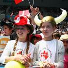Fans at the Australian Open