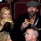 Forget the Olympics! Actors Jennifer Westfieldt and Jon Hamm went to Vancouver for some gourmet, arena-style grub.