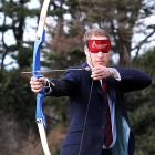 His future highness Prince William, just moments before he flung his arrow at an unlucky spectator during a recent archery competition at St. Dunstan's centre. Didn't anyone tell you, Will? Look both ways before you shoot.
