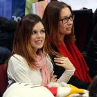 Apparently there were two kinds of ice at this year's Olympics, as Rachel Bilson flashes her brand-spanking new engagement ring.
