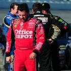 Tony Stewart posted a 22nd-place finish on the day, good for 97 Sprint Cup points.