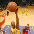The versatile Odom came off the bench during the Lakers' championship run last season to average 12.3 points, 9.1 rebounds and 1.4 blocks in the playoffs. After signing a lucrative deal to stay in L.A. last summer, Odom's numbers have a slipped a little, but he still received 4.1 percent of the vote in this poll.