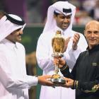 def. Rafael Nadal, 0-6, 7-6(8), 6-4 ATP World Tour 250, Hard, $1,024,000 Doha, Qatar