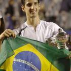 def. Juan Monaco, 6-2, 0-6, 6-4 ATP World Tour 250, Clay, $398,250 Santiago, Chile