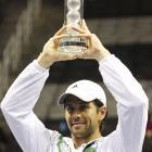 def. Andy Roddick, 3-6, 6-4, 6-4 ATP World Tour 250, Hard (Indoor), $531,000 San Jose, Calif.