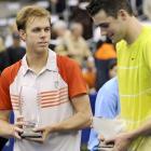 def. John Isner, 6-7(3), 7-6(5), 6-3 ATP World Tour 500, Hard (Indoor), $1,100,000 Memphis, Tenn.