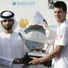 def. Mikhail Youzhny, 7-5, 5-7, 6-3 ATP World Tour 500, Hard, $1,619,500 Dubai, United Arab Emirates