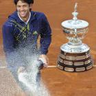 def. Robin Soderling, 6-3, 4-6, 6-3 ATP World Tour 500, Clay, €1,550,000 Barcelona, Spain