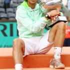 def. Andy Murray, 6-4, 6-2, 6-4 Grand Slam, Clay, €7,580,800 Paris, France