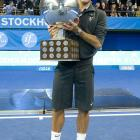 def. Florian Mayer, 6-4, 6-3 ATP World Tour 250, Hard (Indoor), €531,000 Stockholm, Sweden